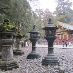 Toshogu Shrine is famous for it's colourful and intricately carved buildings, very different from design from other temples such as those seen in Kyoto.